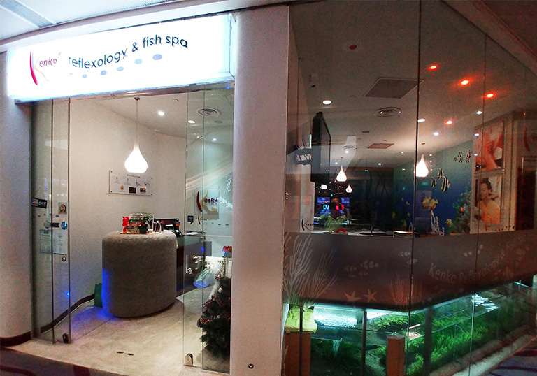 Kenko Reflexology and Fish Spa at 313 Somerset, Singapore