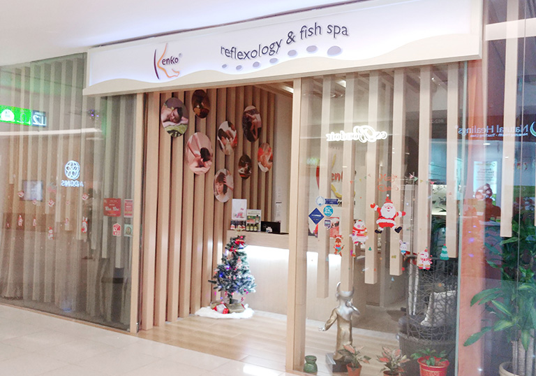 Kenko Reflexology and Fish Spa at Vivo City, Singapore